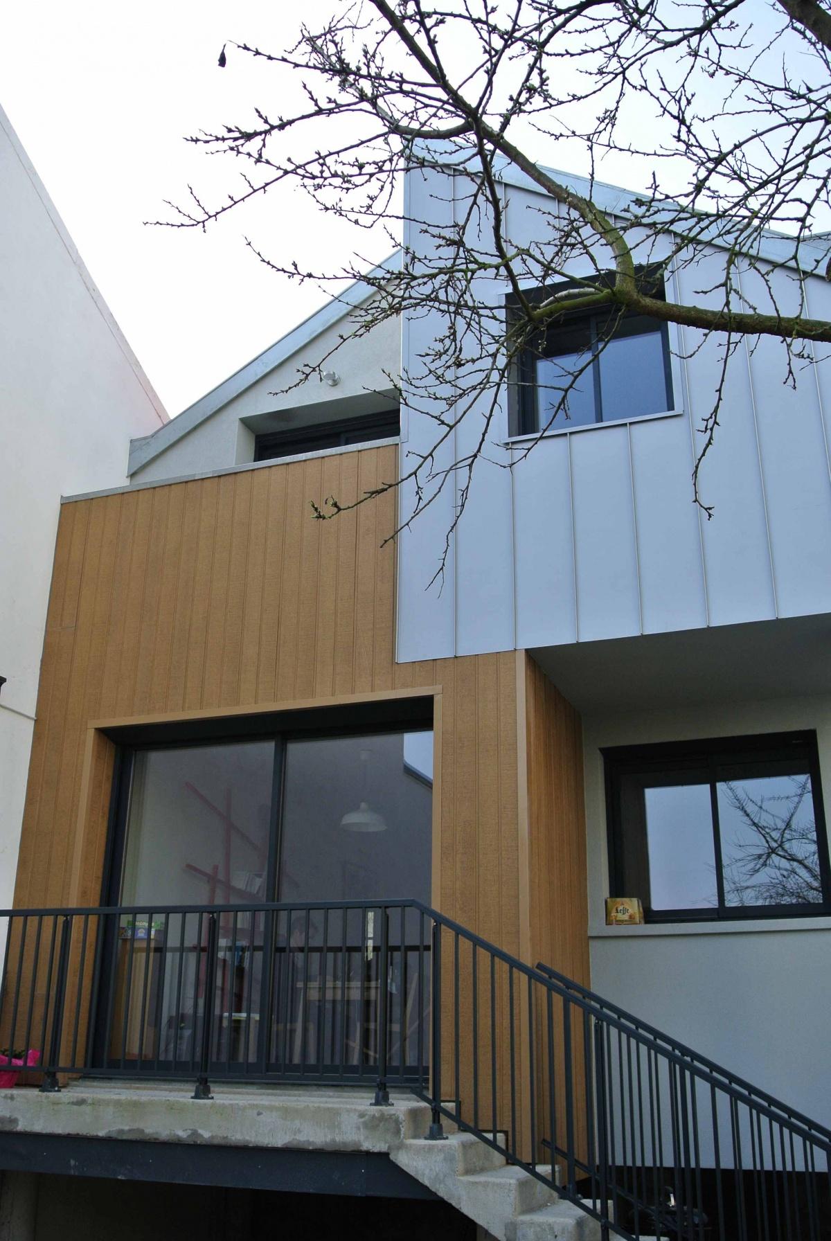 Restructuration et Extension d'un pavillon :