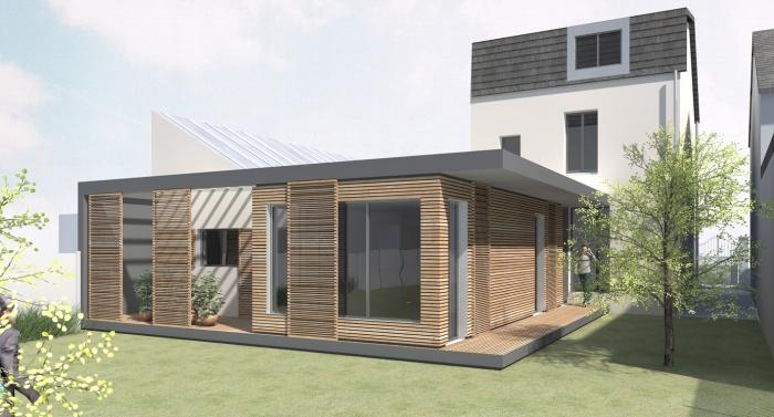 MAISON PASSIVE à Mans (Le) ~ Construction Maison Passive Ossature Bois