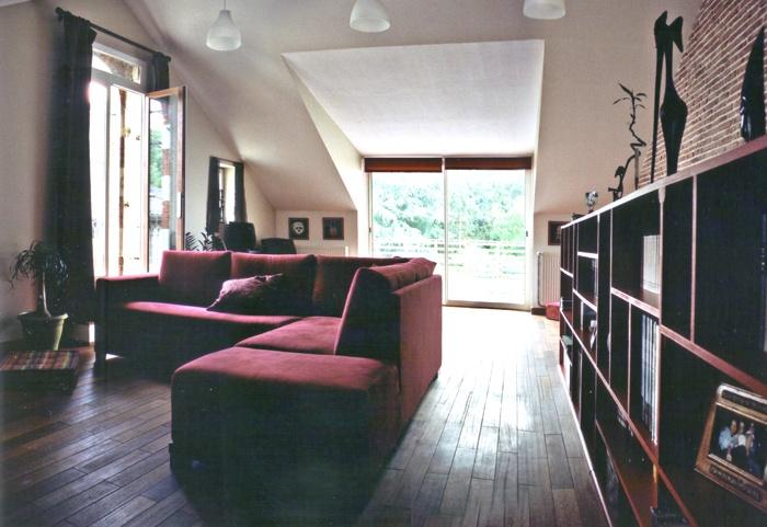 Réunion de deux anciennes maisons à LA FLECHE (72) : Hélène01ecrasee