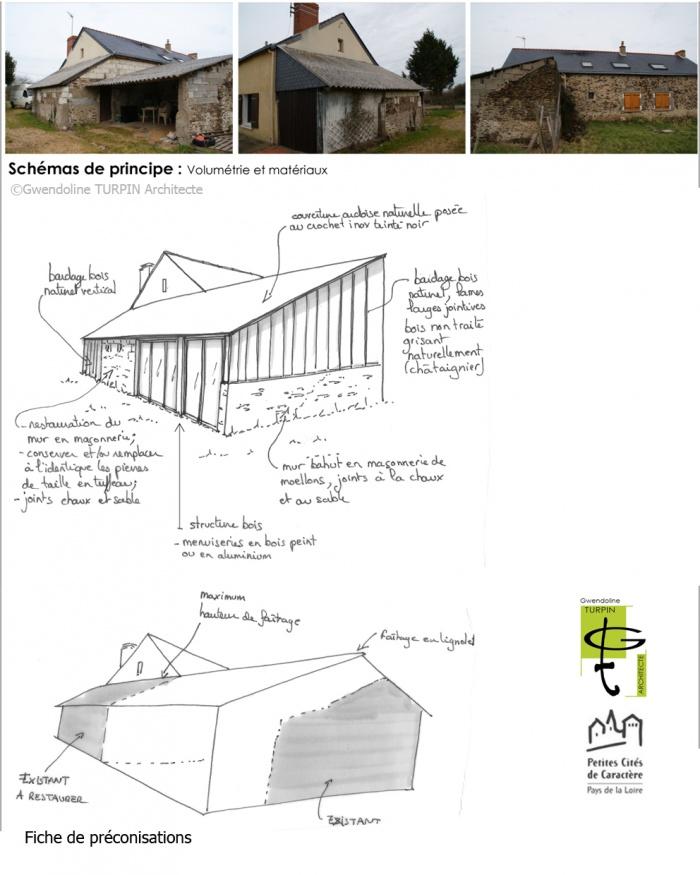Extension d'une maison individuelle sur les bases d'un ancien appentis