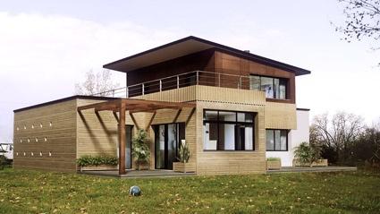 Maison moderniste bois