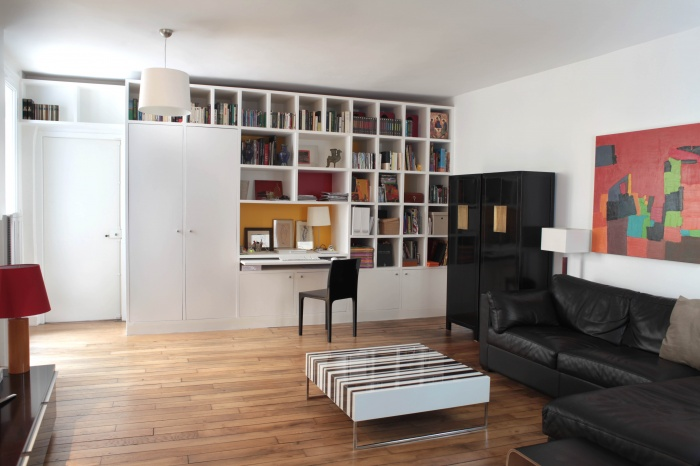 Rénovation d'un appartement : Séjour 2