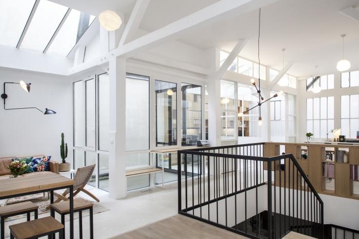 Rénovation de bureaux et création d'un studio de post-production : CRM BBD 8