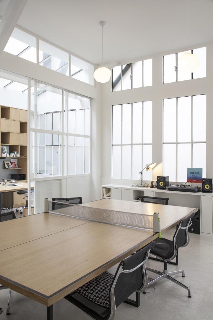 Rénovation de bureaux et création d'un studio de post-production : CRM BBD 6