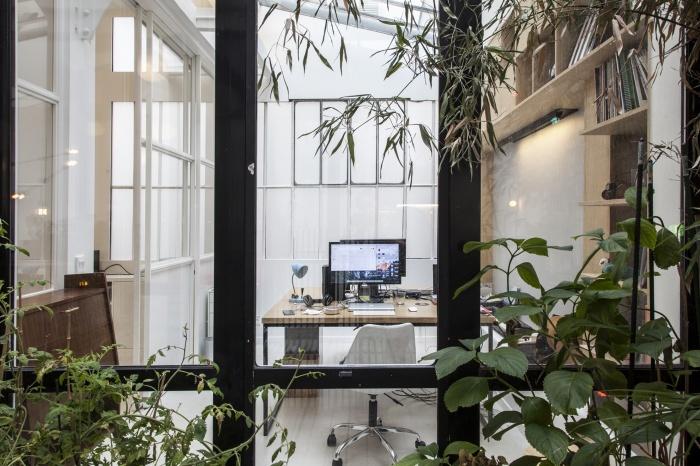 Rénovation de bureaux et création d'un studio de post-production : CRM-BBD15