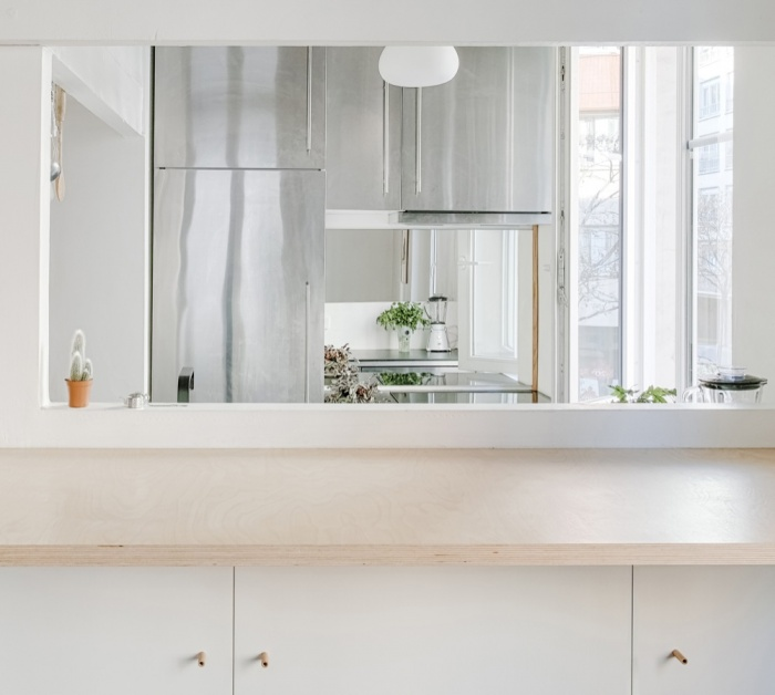 Rénovation d'un appartement duplex : 03 Zoom cuisine