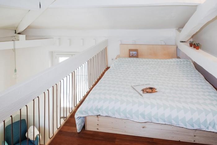 Rénovation d'un appartement duplex : 12 Chambre
