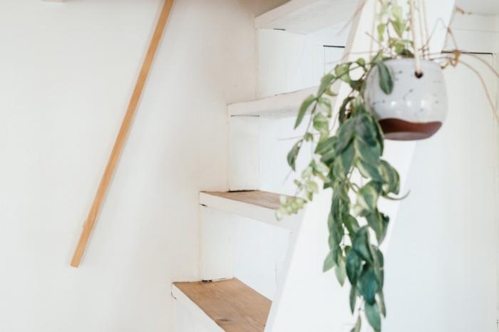 Rénovation d'un appartement duplex : 17 Rampe escalier