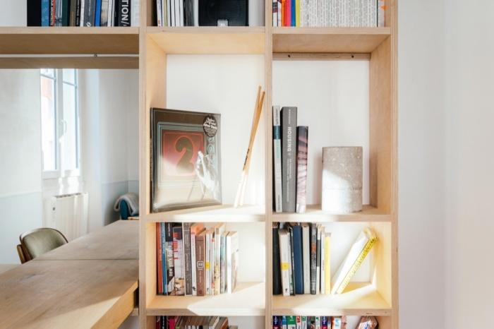 Rénovation d'un appartement duplex : 22 Bibliothe?que zoom 2