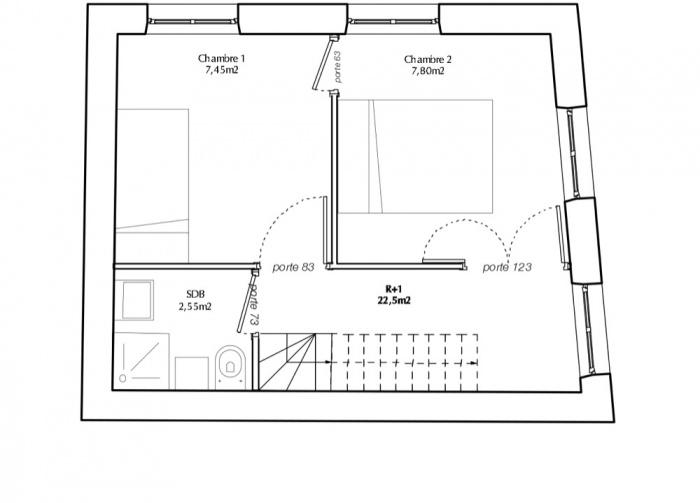 Surélévation d'un immeuble d'angle : TUMBLR R+1