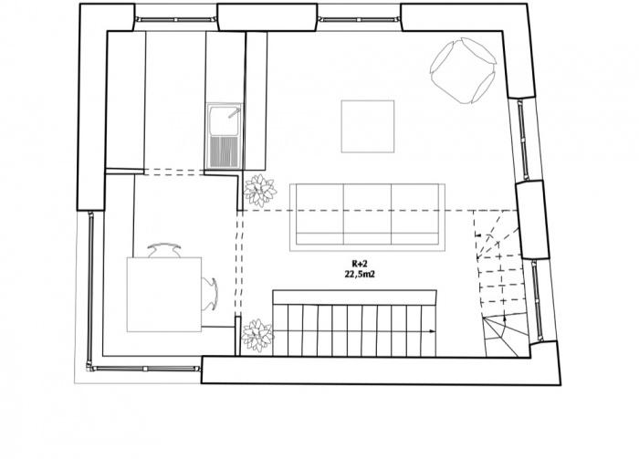 Surélévation d'un immeuble d'angle : TUMBLR R+2
