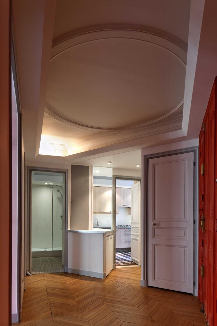 Restructuration complète d'un appartement Haussmannien