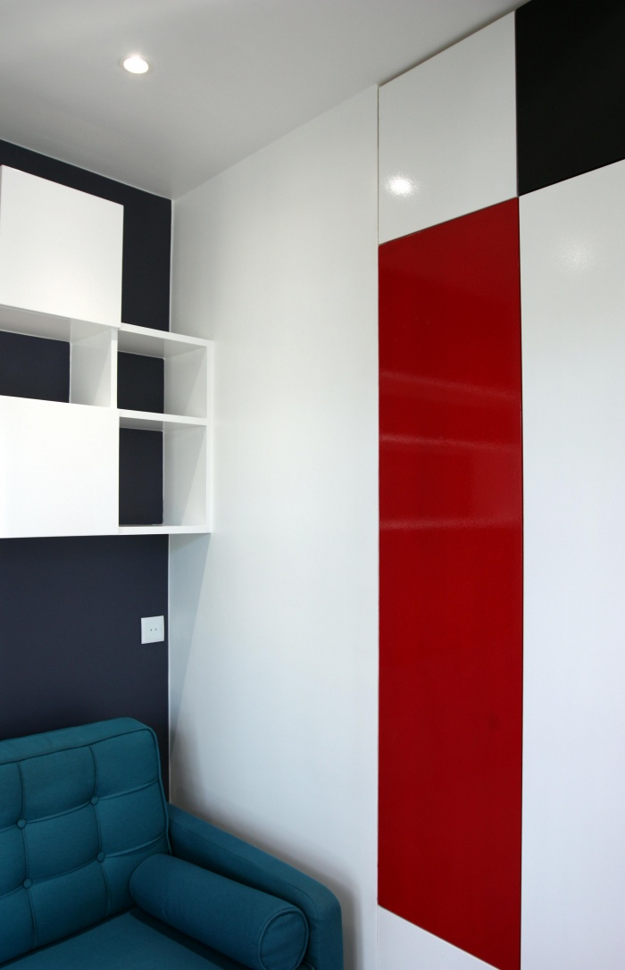 Rénovation d'un studio : A 1