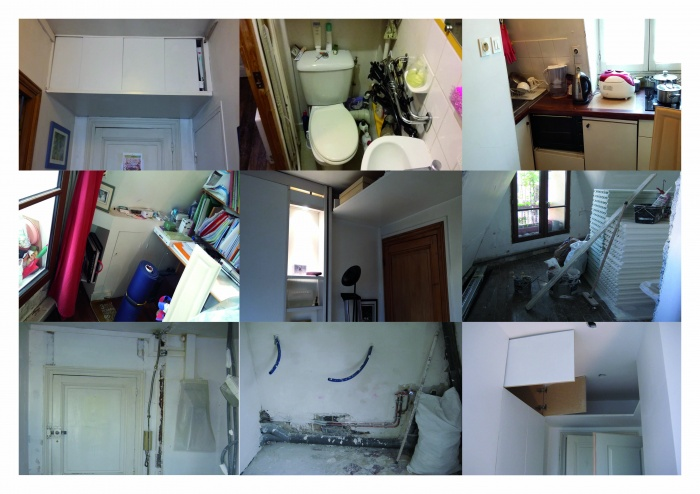 Rénovation d'un studio : TRAVAUX TEXIER