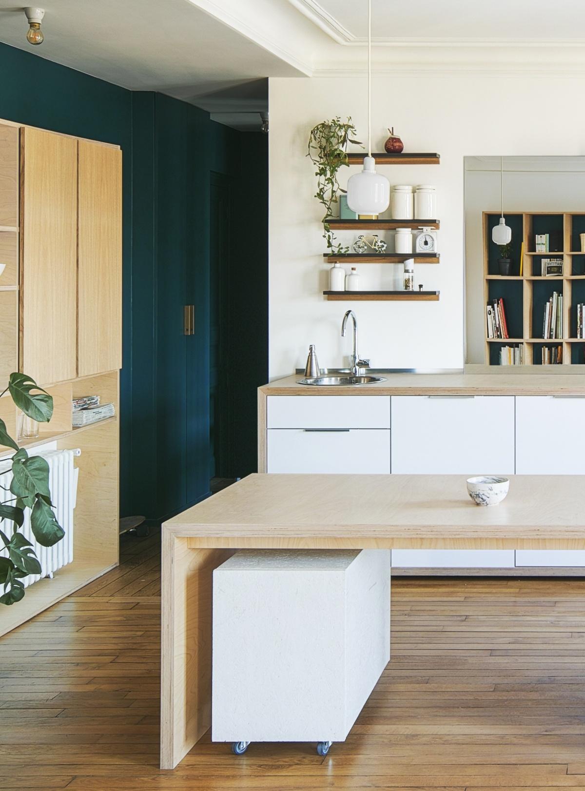Restructuration et rénovation d'un appartement