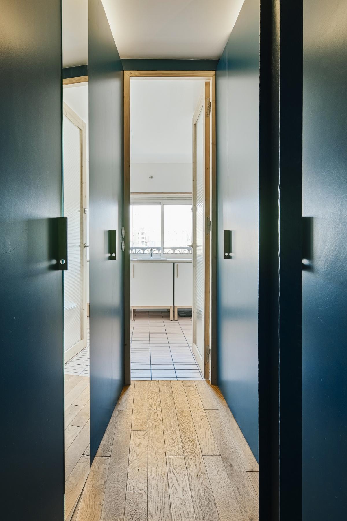 Restructuration et rénovation d'un appartement : 6 rue Hector Malot-2144