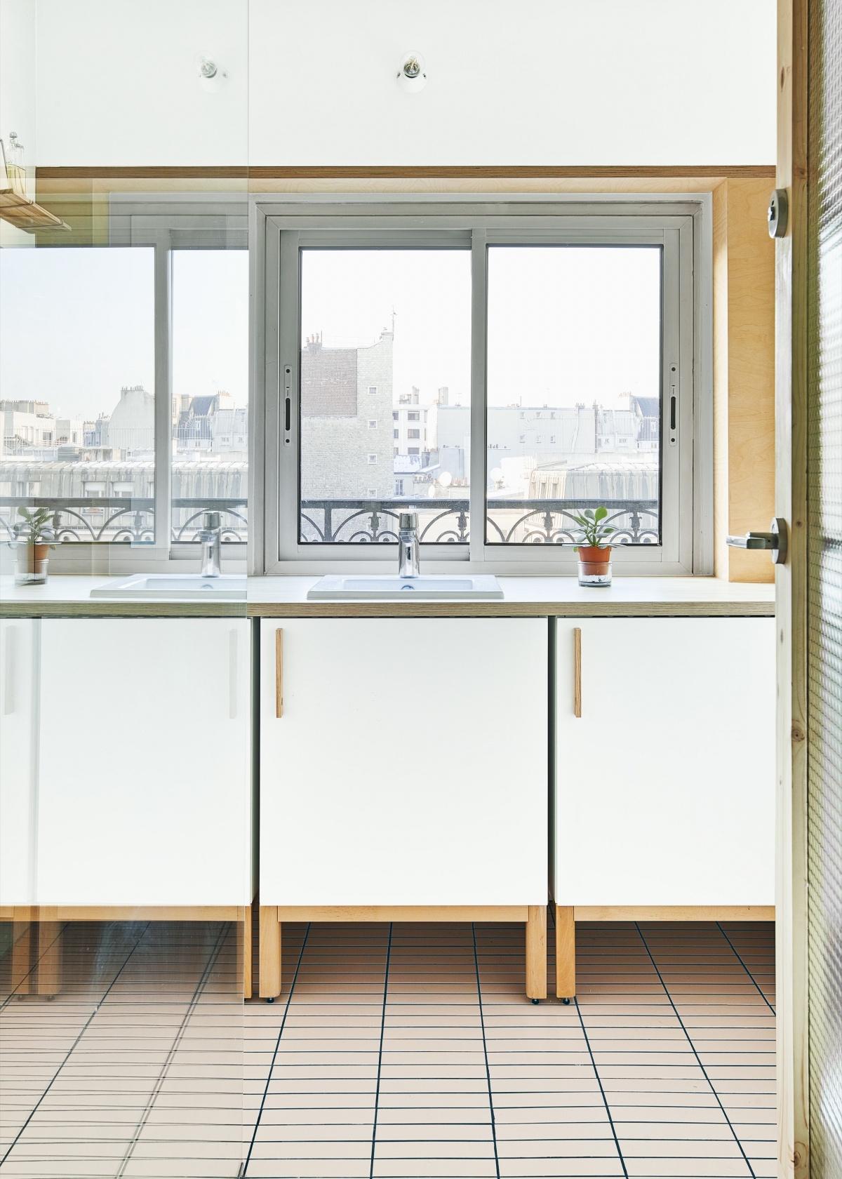 Restructuration et rénovation d'un appartement : 7 rue Hector Malot v2-2189