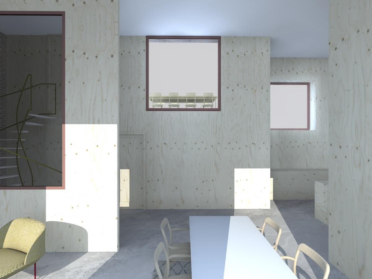 Surélévation pour création d'un duplex avec terrasse : Cam_1